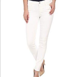 J Brand skinny leg jeans white 26 nwt low rise